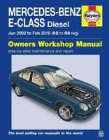 Haynes Manual Mercedes E-Class 2002-10 2.2 2.7 3.0 3.2 Diesel Workshop Manual